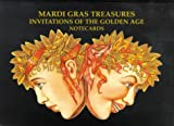 img - for Mardi Gras Treasures: Invitations of the Golden Age Notecards book / textbook / text book