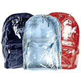Wholesale Lot (60) Assorted Clear Transparent PVC School Backpacks Book Bags ~ K Cliffs