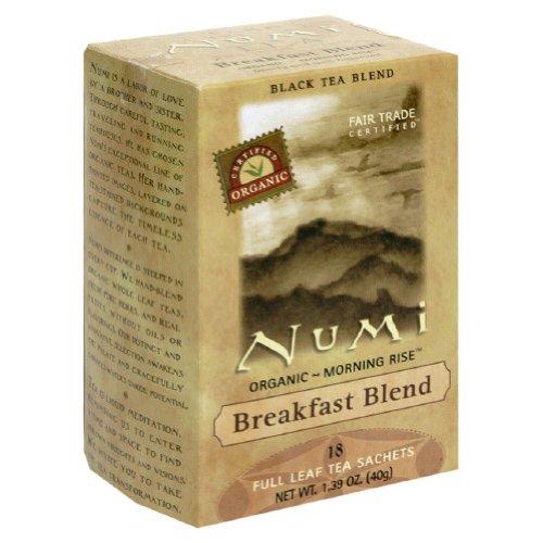 Tea Black Breakfast Blend Numi Teas 18 Bag
