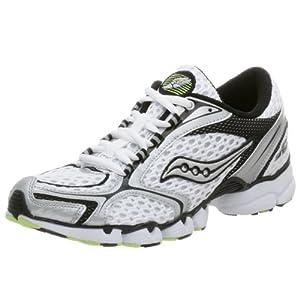 Saucony Men's Grid Sinister Running Shoe,White/Black/Citron,6 M
