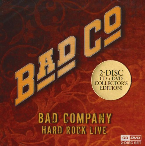 Bad Company - Bad Company: Hard Rock Live (Cd+dvd) - Zortam Music