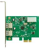 玄人志向 USB3.0増設ボード PCI-Express x1 (Gen.2) 用 外部2ポート Renesas製チップ搭載 USB3.0RD-PCIE