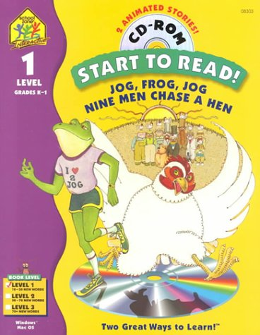 Jog Frog Jog with CDROM (Start to Read Series)