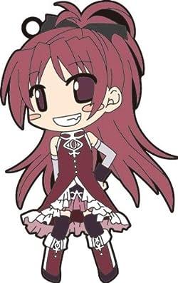 魔法少女まどか☆マギカ ラバーキーホルダー 佐倉杏子