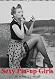 Image de Sexy Pin-up Girls in schwarz-weiß (Wandkalender 2016 DIN A2 hoch): Kesse Pin-up-Girl