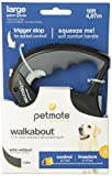 Petmate Walkabout Retractable Belted Leash for Dogs up to 110 Pounds, 16 Feet, Large, Black