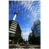 京都府京都市京都タワーのポストカードはがきハガキ葉書postcard