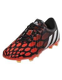 Adidas Predator Instinct Junior FG Soccer Cleat (Solar Red, Black) Sz. 3.5