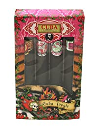 Champs Cuba Jungle Collection 4 Piece Gift Set for Women