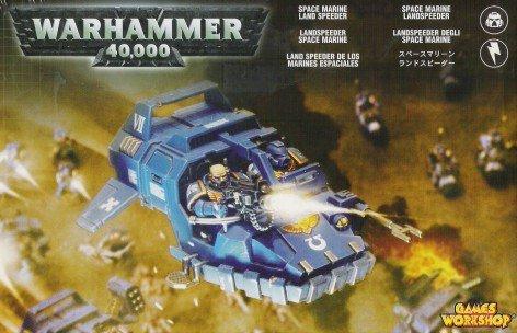 Games Workshop Space Marine Land Speeder Box Set