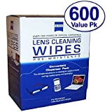 Zeiss Pre-Moistened Lens Cloths Wipes 600 Count