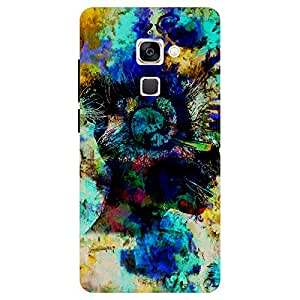 Abstract Multicolor Design - Mobile Back Case Cover For LeEco Le 2 Pro