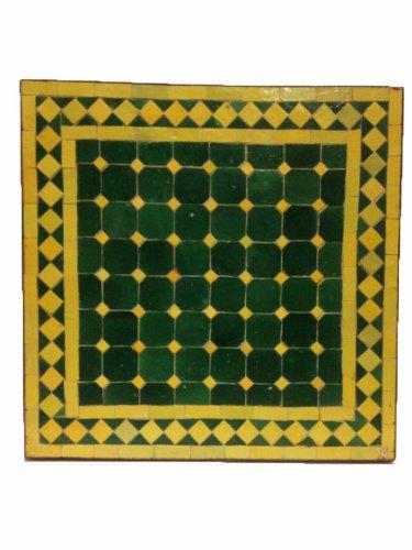 Mosaiktisch Beistelltisch Marrakesch Grün/ Gelb, 50x50cm NEU jetzt kaufen