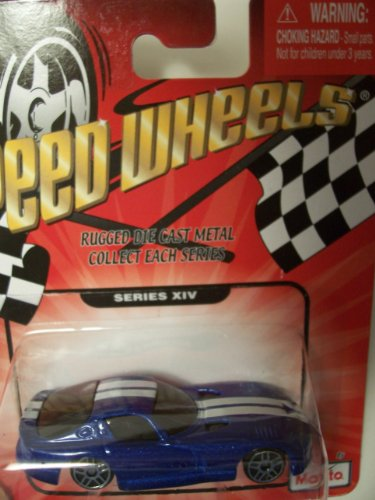 Speed Wheels 1996 Dodge Viper GTS ~ Blue (Series XIV)