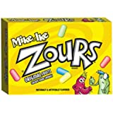 Zours Sour Chewy Candy 4.2 Ounce Theater Size Pack 1 Box