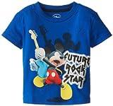 Disney Little Boys' Mickey Future Rock Star Tee