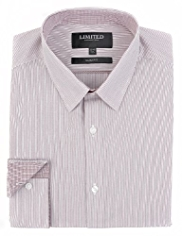 Limited Collection Slim Fit Fine Striped Shirt
