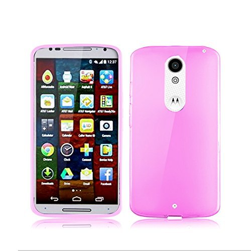 BEST DEALS Best Deals Premium Silicon Soft Case Cover for Motorola Moto X Play Pink