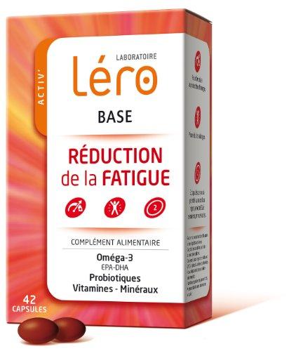 Lero Base Reduction of Fatigue 42 Gel-Caps