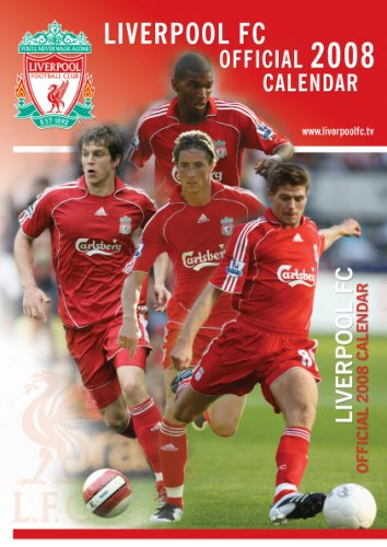 Official Liverpool FC A3 Calendar 2008 2008