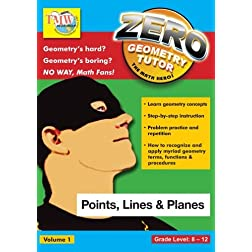 Zero The Math Hero - Points, Lines & Planes