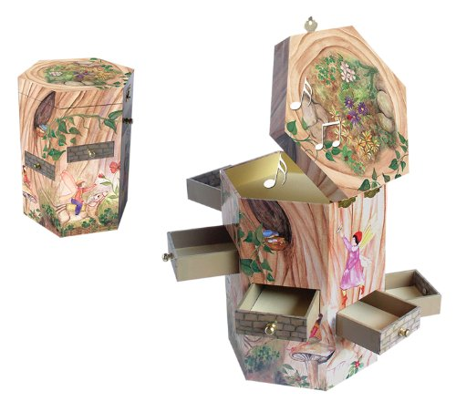 Enchantmints Treasure Tower Music Box - Fairy Collection