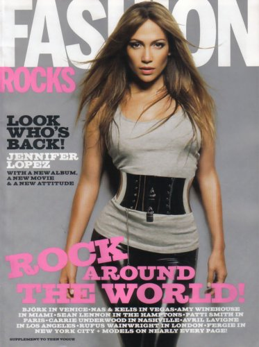 Fashion Rocks Magazine Fall 2007 Jennifer Lopez