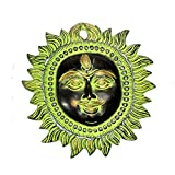 "Craft Store India Hand Made Brass Hanging Sun 5""x4"""
