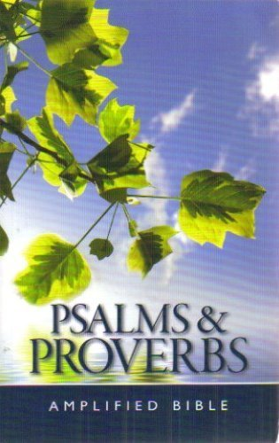 Psalms & Proverbs: Amplified Bible Version PDF
