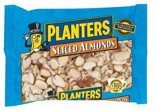 Buy Planters Sliced Almonds, 6-Ounce Packages (Pack of 6) (Planters, Health & Personal Care, Products, Food & Snacks, Baking Supplies, Nuts & Seeds)