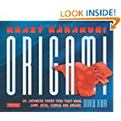 Krazy Karakuri Origami Kit: Japanese Paper Toys That Walk, Jump, Spin, Tumble And Amaze! [Origami Kit With Book...