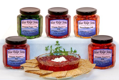 Blue Ridge Jams: Jalapeno Pepper Jelly, Jams,
