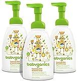 Babyganics Foaming Dish and Bottle Soap, Citrus, 16oz Pump Bottle (Pack of 3)