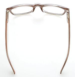 56f888d94d9 Eyekepper Readers Square Large Lenses Spring-Hinges Reading Glasses Men  Women Black-Brown +0.5