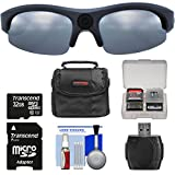 Coleman Vision HD G3HD-SUN 1080p Weatherproof Action Polarized Sunglasses with 32GB Card + Case + Reader + Kit