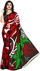 Royalty Wears Women's Chiffon Saree (5074)