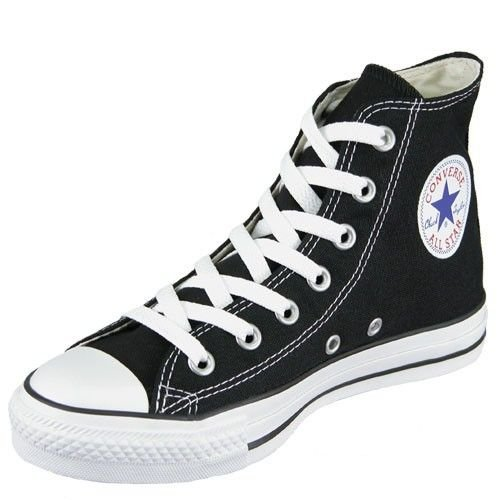 e0890c027f3377 Review Converse Chuck Taylor All Star Shoes (M9160) Hi Top in Black ...