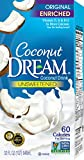 Coconut Dream Enriched Coconut Drink, Unsweetened Original, 32 Ounce (Pack of 12)