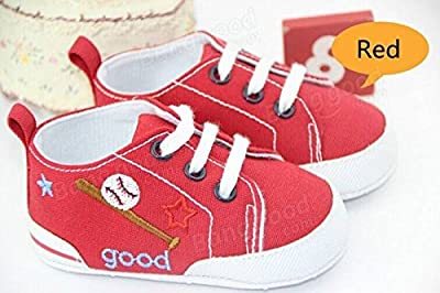 Coeus Baby Spitze Sneaker weiche Sohle Krippe Schuhkind Prewalker Jungen Mädchen Kleinkind von Coeus Home - Gartenmöbel von Du und Dein Garten