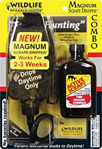 Wildlife Research 385 Magnum Dripper Active-Scrape Combo, 4 Fluid Ounces by Wildlife Research