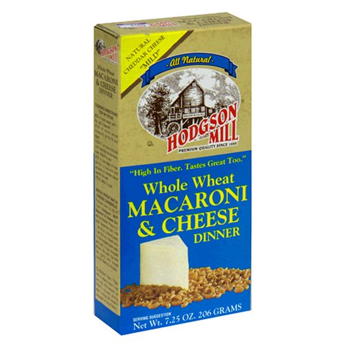 Hodgson Mill Whole Wheat Macaroni & Cheese Dinner, 7.25-Ounce Boxes (Pack of 12)