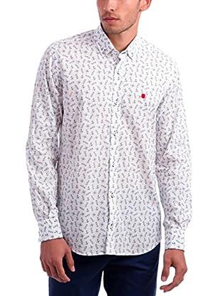 Polo Club Camisa Hombre Brescia Cavalino (Blanco)