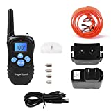 Dogwidgets DW-17 Dog Training Collar With Remote 100 Levels Of Shock Vibration Warning Sound Beep Rechargeable 330 Yards Pet Trainer