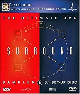 The Ultimate DVD Surround Sound Sampler & 5.1 Set-Up Disc [Import]