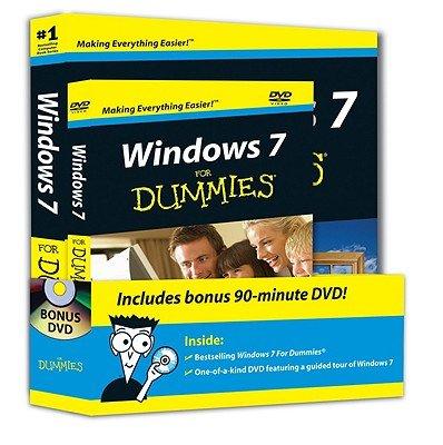 Windows 7 For Dummies Book + DVD Bundle