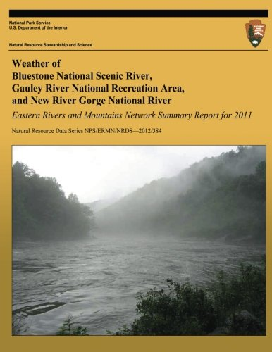 Eastern Rivers and Mountains Network Summary Report for 2011: Weather of Bluestone National Scenic River, Gauley River N