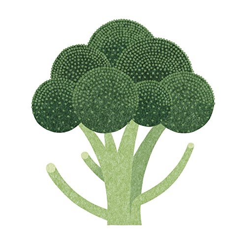 Joseph Joseph Broccoli Tagliere, Vetro, Verde