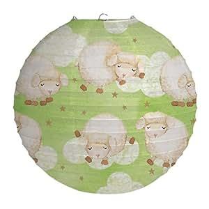 Creative Converting Baby Shower Ba Ba Baby Paper Lantern Decoration, 12-Inch