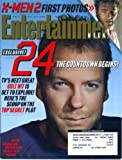 img - for Entertainment Weekly October 25 2002 X-Men 2, Kiefer Sutherland in 24, Adam Sandler, Carlos Santana, Michael Moore book / textbook / text book