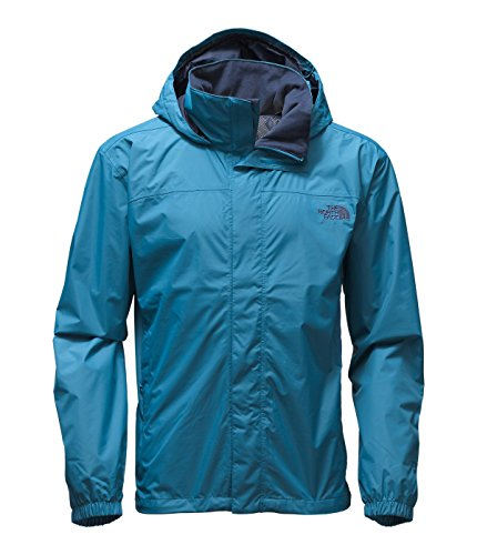 The North Face Men's Resolve Jacket Banff Blue Outerwear LG